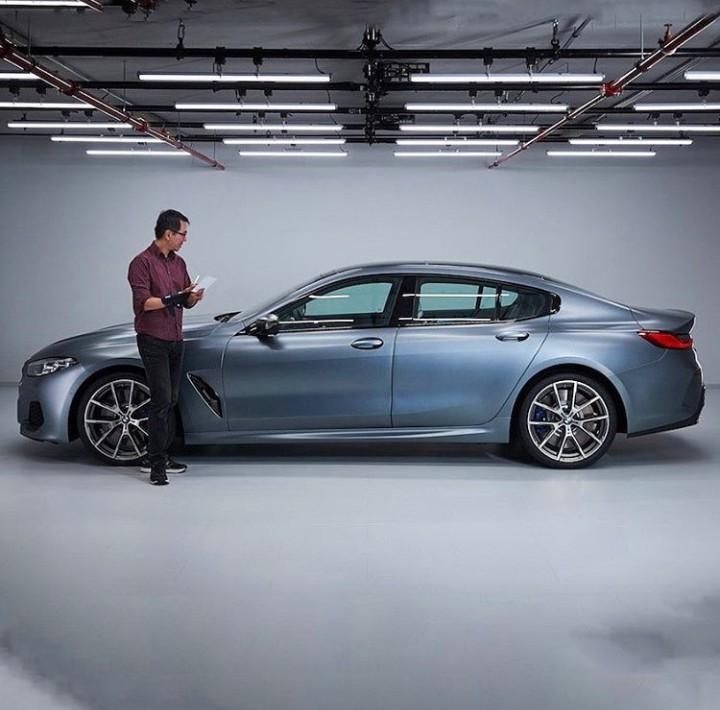Leaked Pictures: 2020 BMW 8 Series GranCoupe