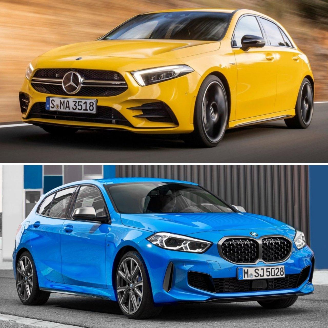 Comparison Review: BMW M135i xDrive, Mercedes-AMG A35, Audi S3 Sportback & Volkswagen Golf 7.5R