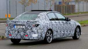2020 Mercedes Benz C-Class in Camouflage (back)