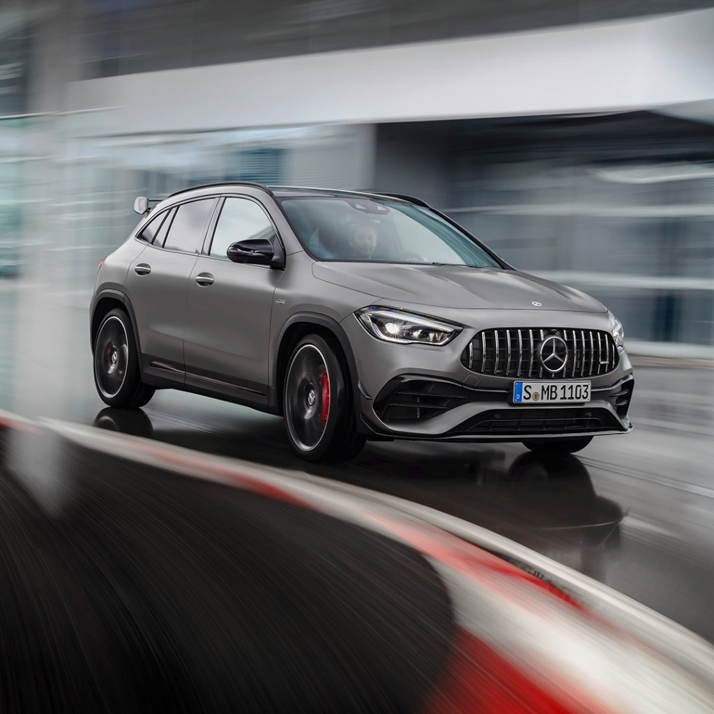 The New Mercedes-AMG GLA 45 S Comes ToLife