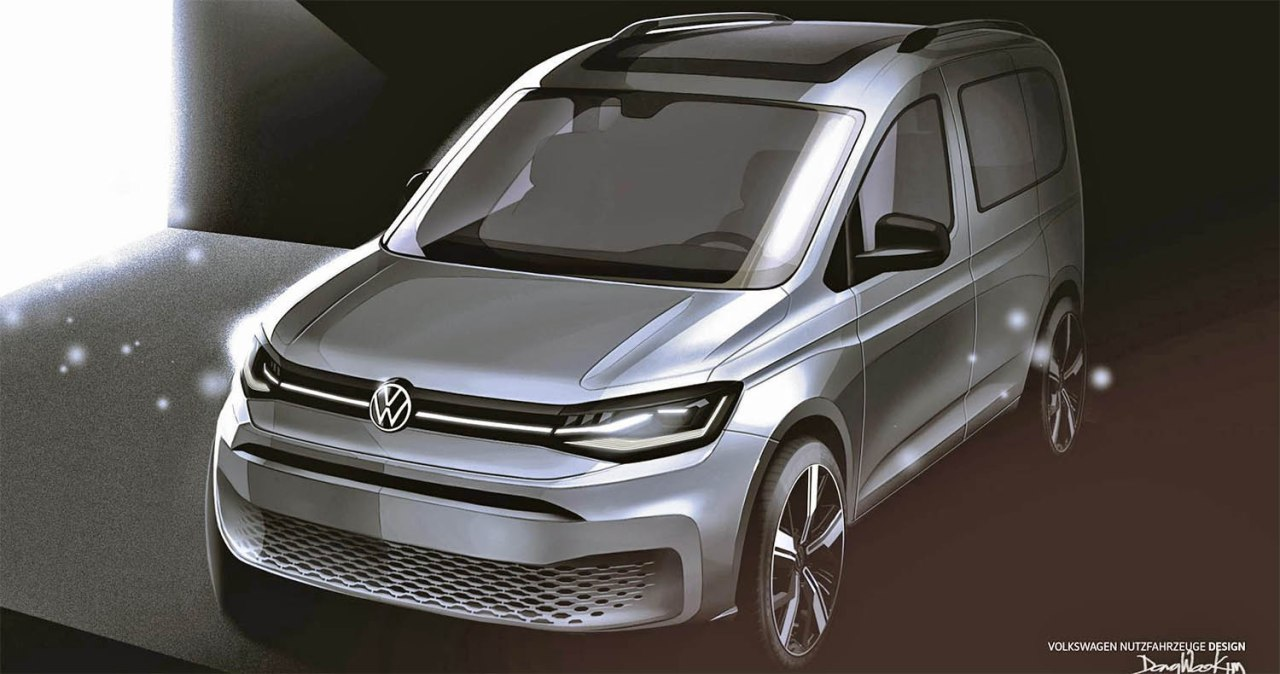 2020 Volkswagen CaddySpied