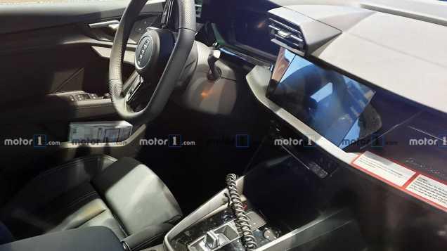 2020 Audi S3 Protoype Interior Shot by CarPix