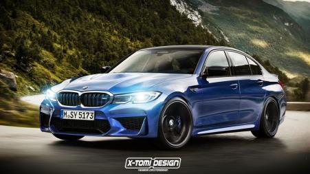 BMW M3 render 2020