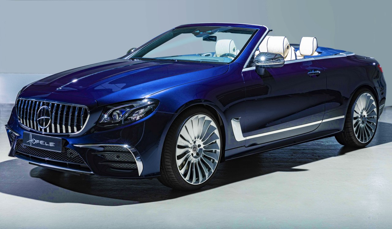 Hofele unveils the new HECabriolet