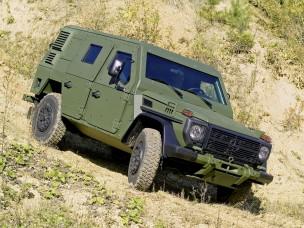 1992 to present W461 amoured military spec Mercdes Benz G-Wagen