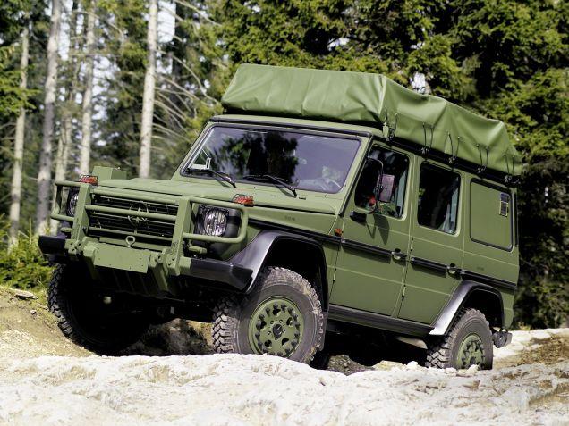 1992 to present W461 military spec Mercdes Benz G-Wagen