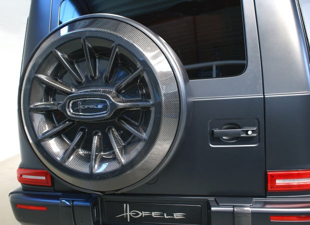 B3 - Nr 2691 HOFELE G-Sport, side, Carbon spare wheel cover-1