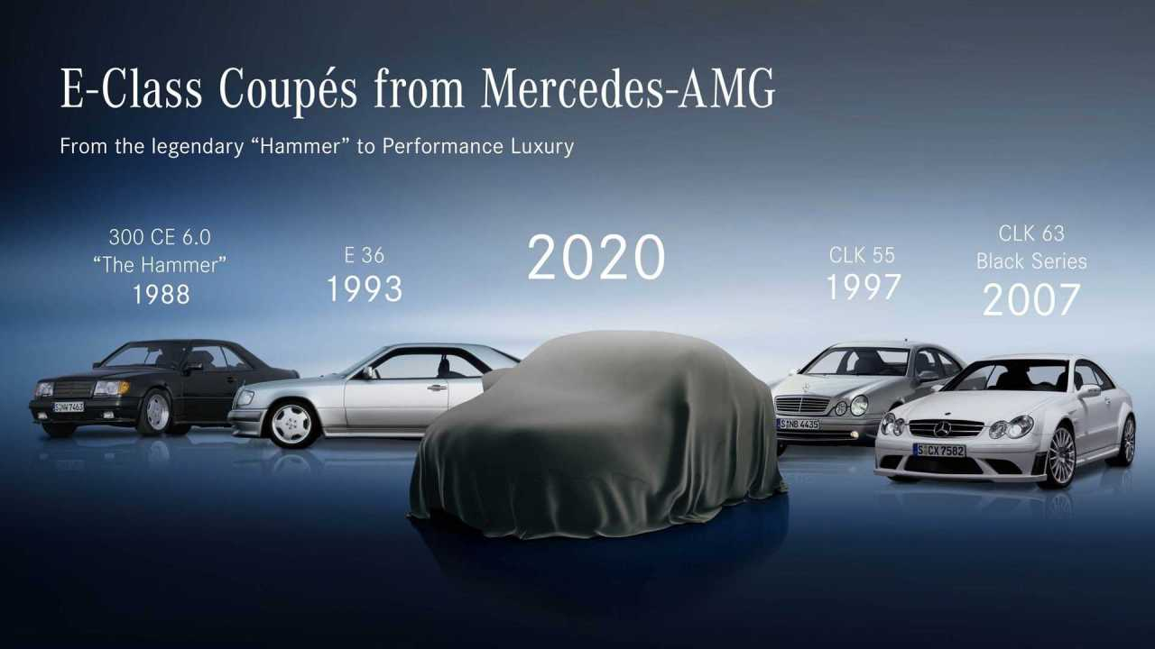 The E-Class Coupe Facelift To Be Revealed On The 27th OfMay