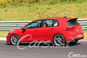 Volkswagen Golf 8 GTi TCR testing at the Nurburgring