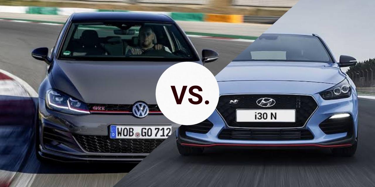 Spec List: Volkswagen Golf 7.5 GTi TCR Vs Hyundai i30N