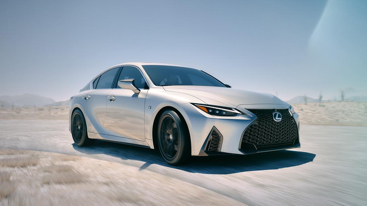 The 2021 Lexus IS ShowsFace