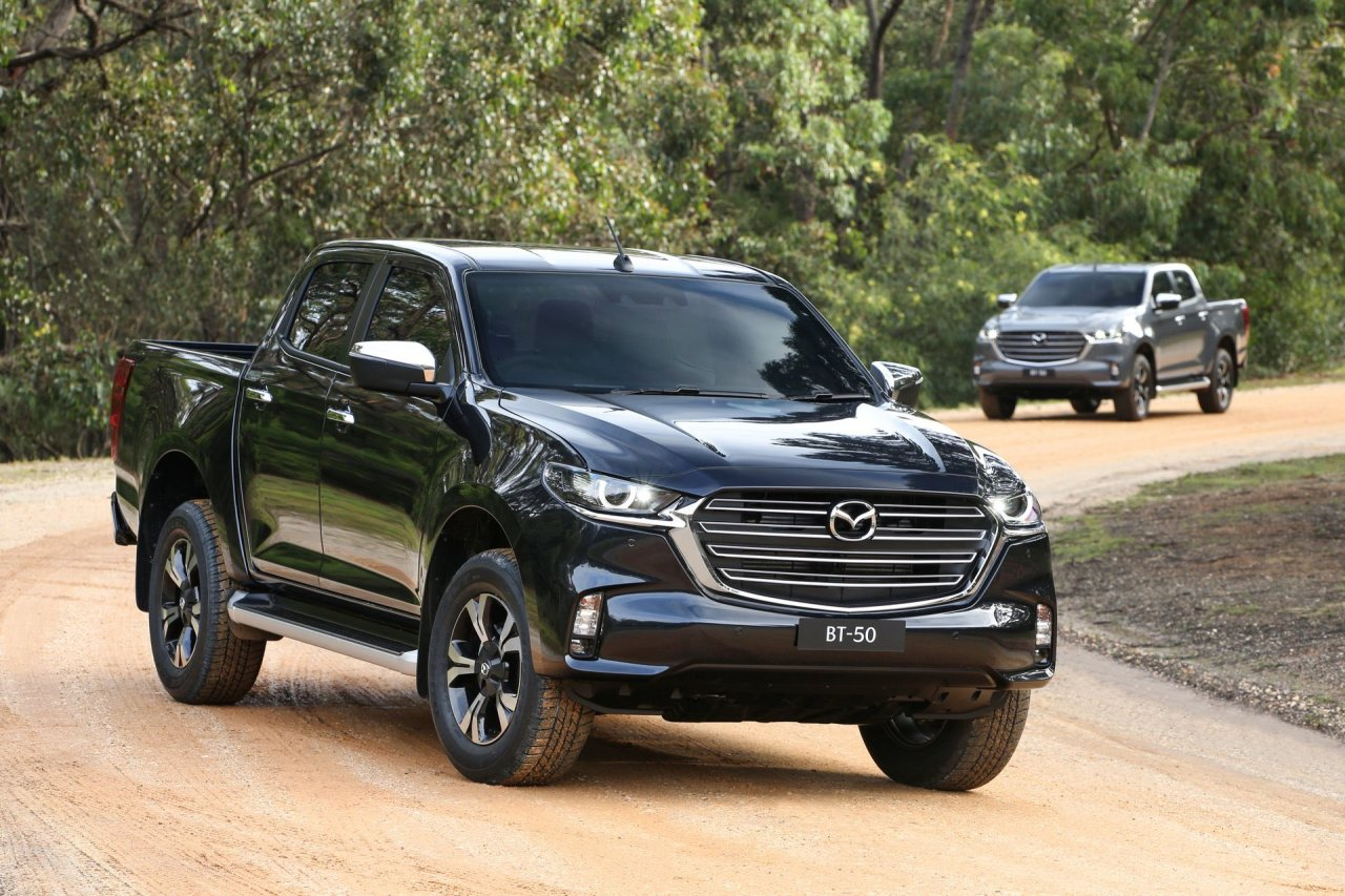 The Mazda BT-50 Revealed With A NewDesign