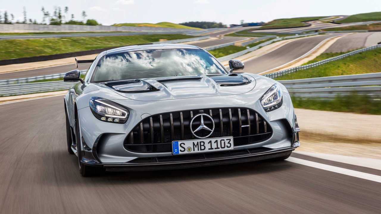 Mercedes-AMG Unleashes The Track-Focused GT BlackSeries