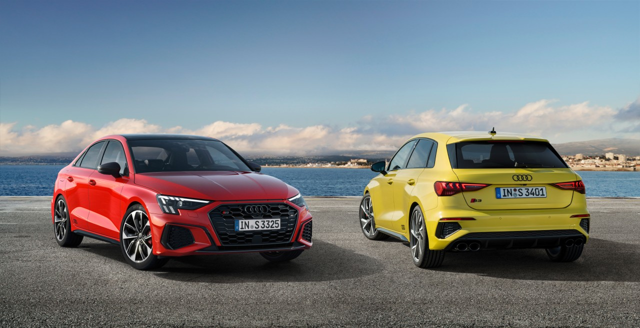The New Audi S3 Hatch And Sedan Have BeenUnveiled