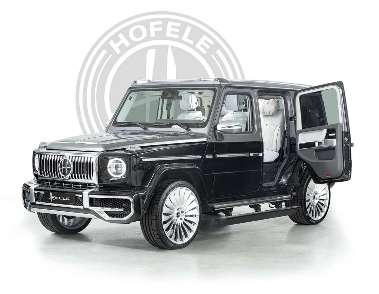 The Luxurious G-Wagon With Suicide Doors