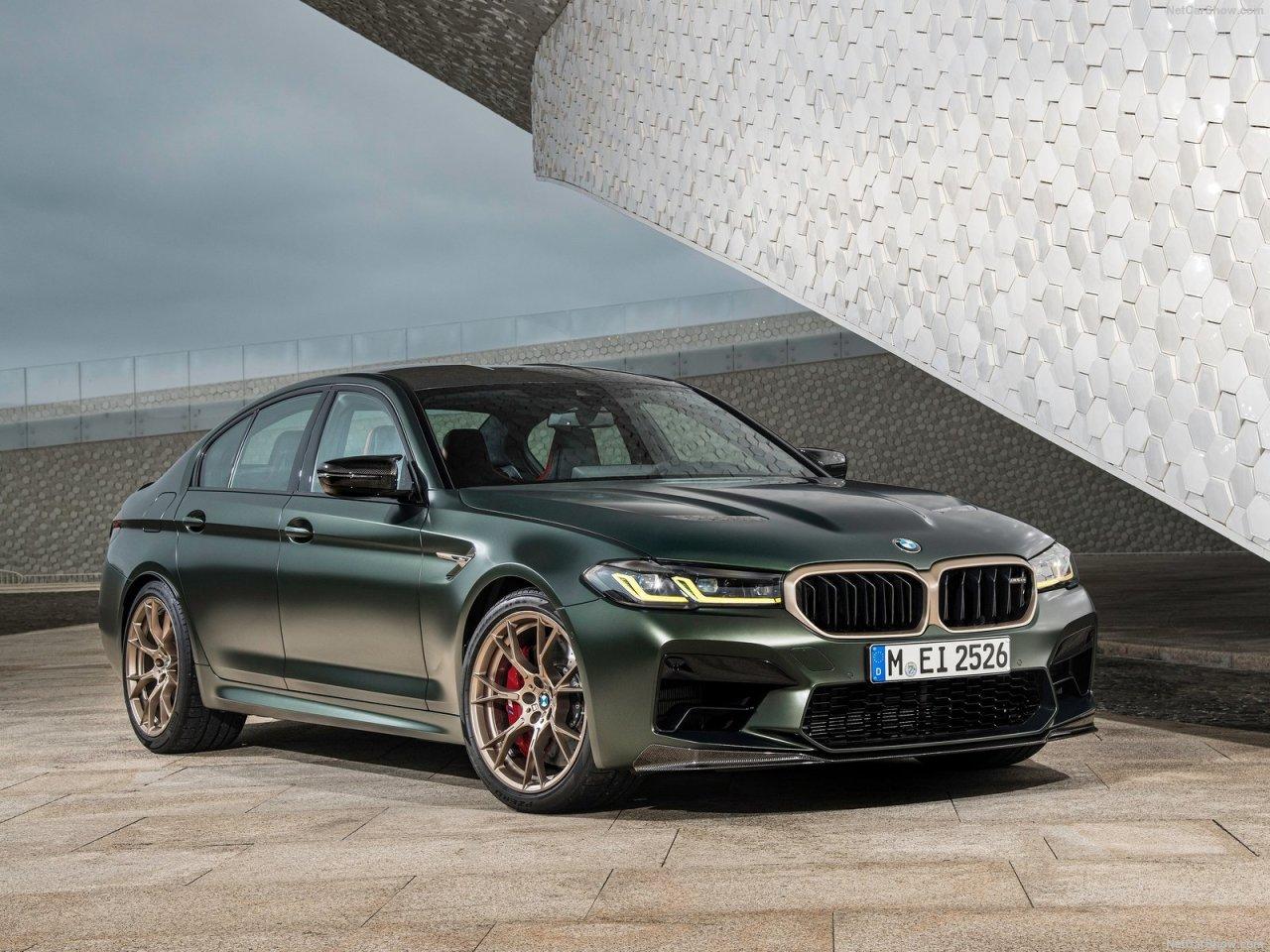 BMW Reveals The 'Exclusive' M5CS