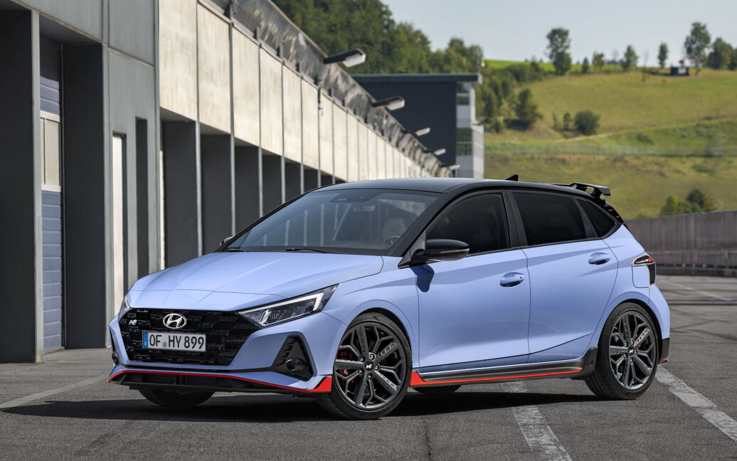 The i20 N Is Hyundai's Latest HotOffering