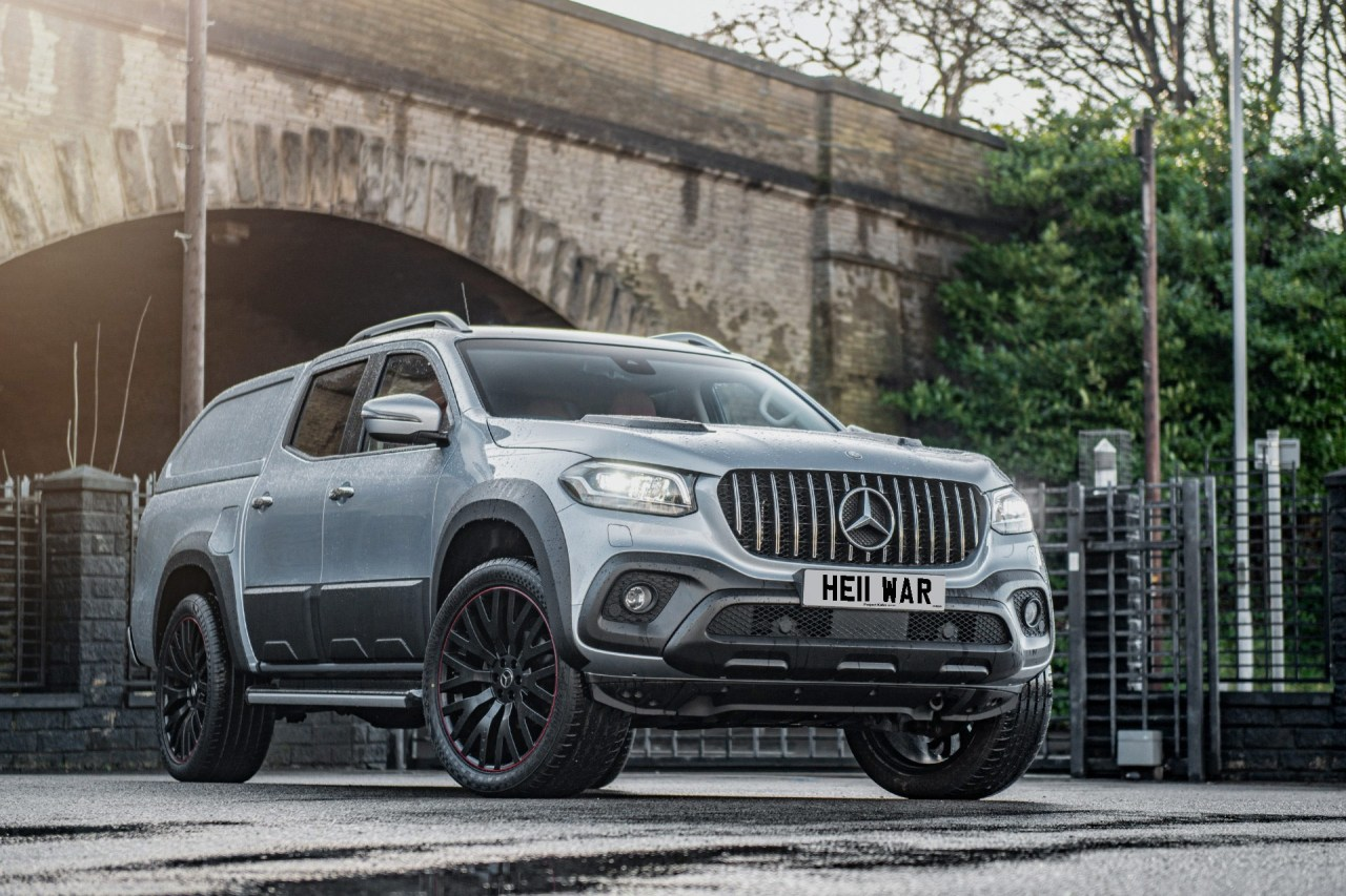 The Modified X-Class With A Numberplate That Costs Half The Price