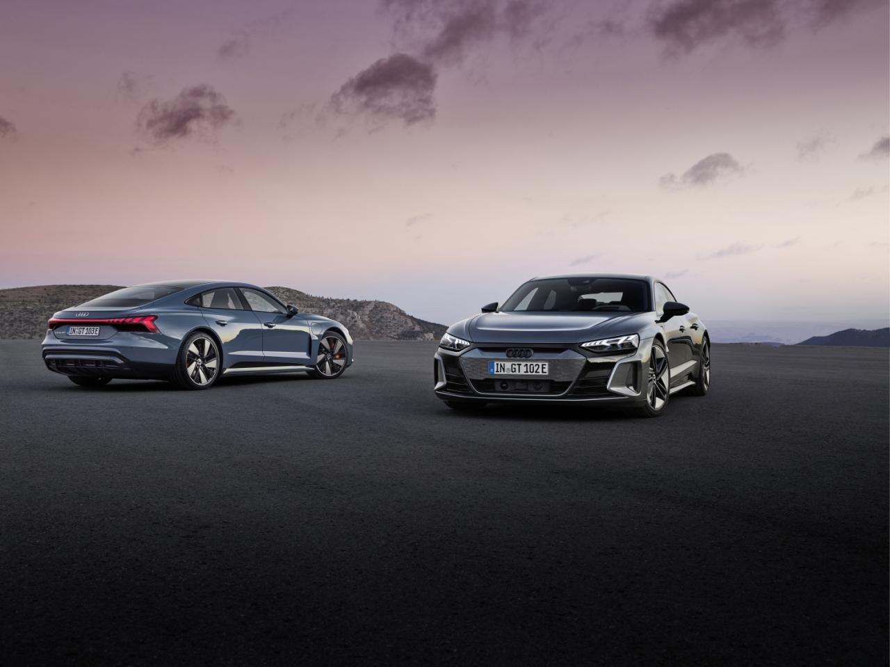 Audi Unveils The New E-Tron GT Alongside The RSVersion