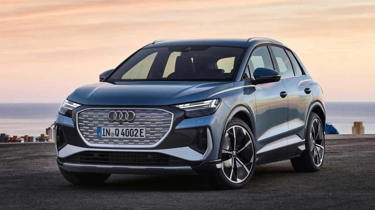 Audi Unveils The Q4 E-Tron Alongside A SportbackVersion