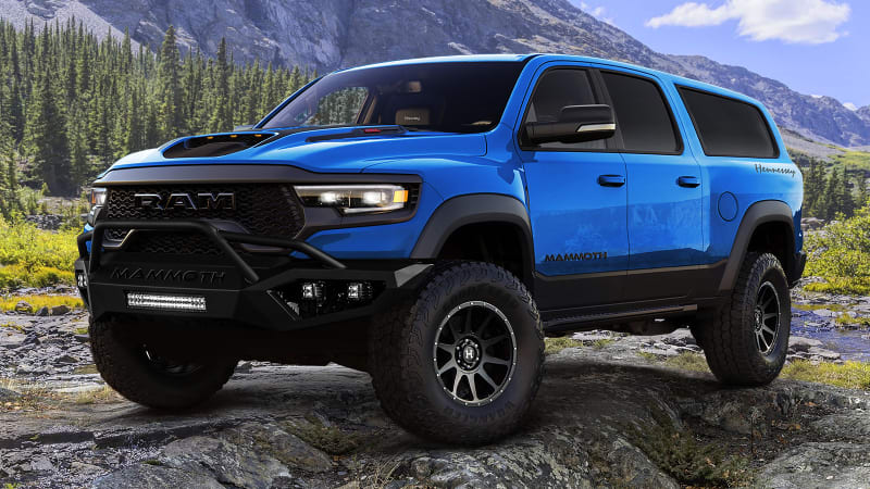 A RAM TRX With Over 1000 hp & 7Seats