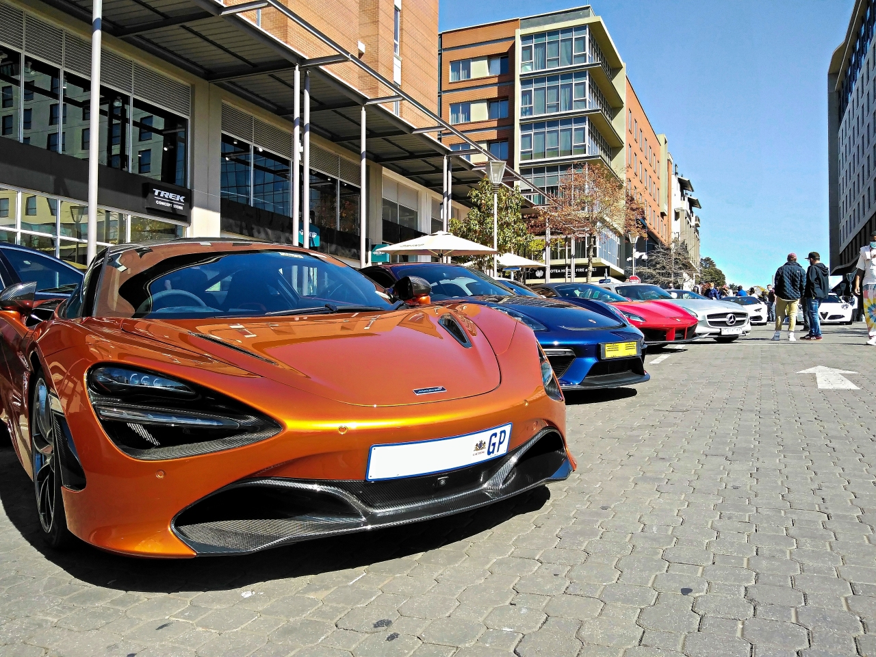 Supercar Sunday At MelroseArch