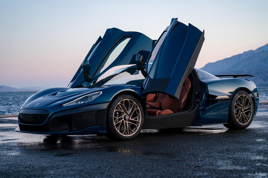 The Rimac Nevera With Nearly 2000 hp IsRevealed