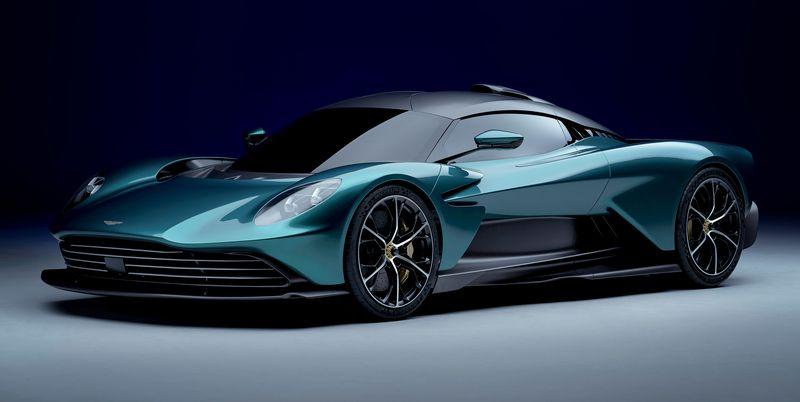 Aston Martin's V8 Hybrid ValhallaRevealed