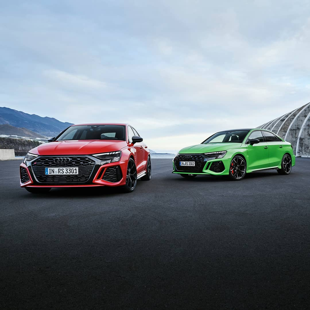 Audi RS3 Unveiled In An AggressiveLook