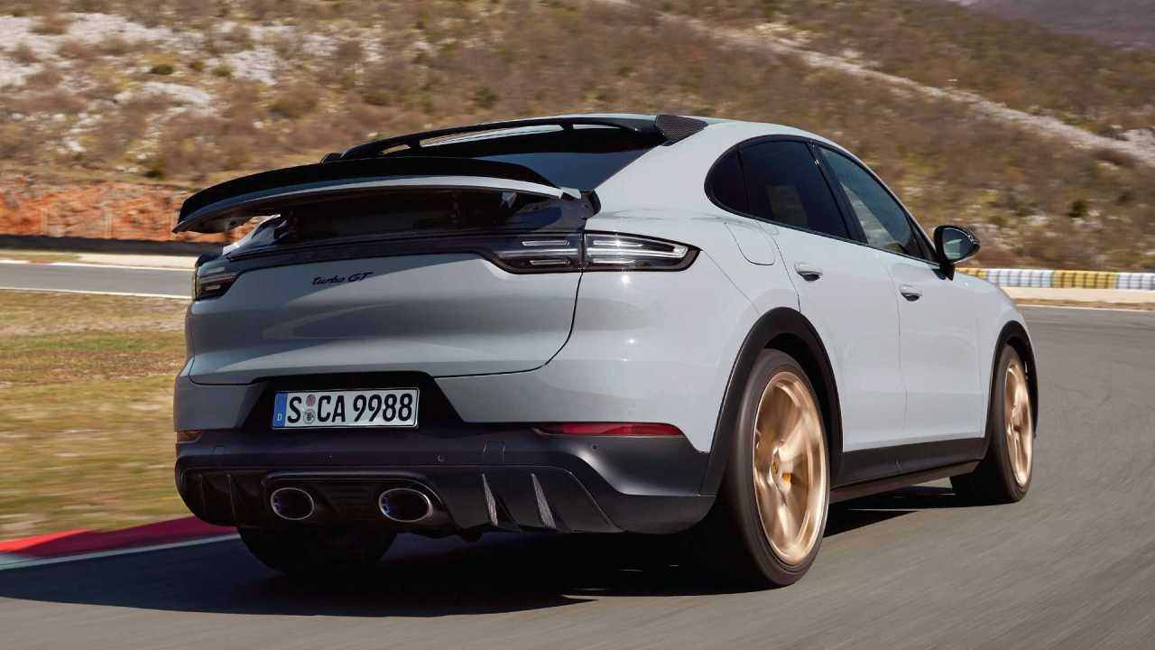Porsche Reveals Their Record-Breaking Cayenne Turbo GTCoupe