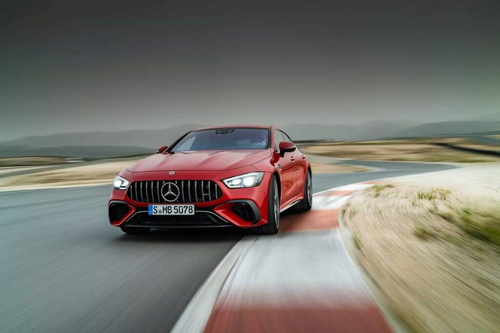 The Mercedes-AMG GT 63 S E-Performance Revealed With Too MuchPower