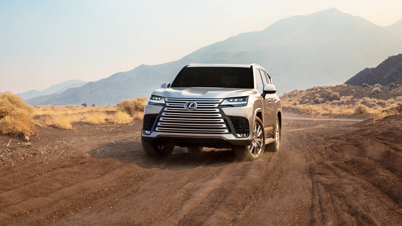 Lexus Removes The Covers Off The New LX600